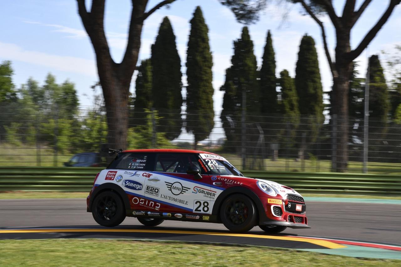 Gianluca Calcagni (ITA) Filippo Maria Zanin (ITA), John Cooper Works,L'automobile by Progetto E20