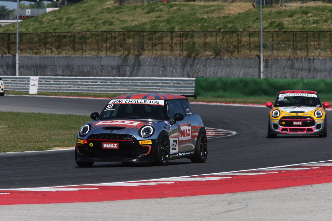 Alex De Angelis (ITA) Mini John Cooper Works