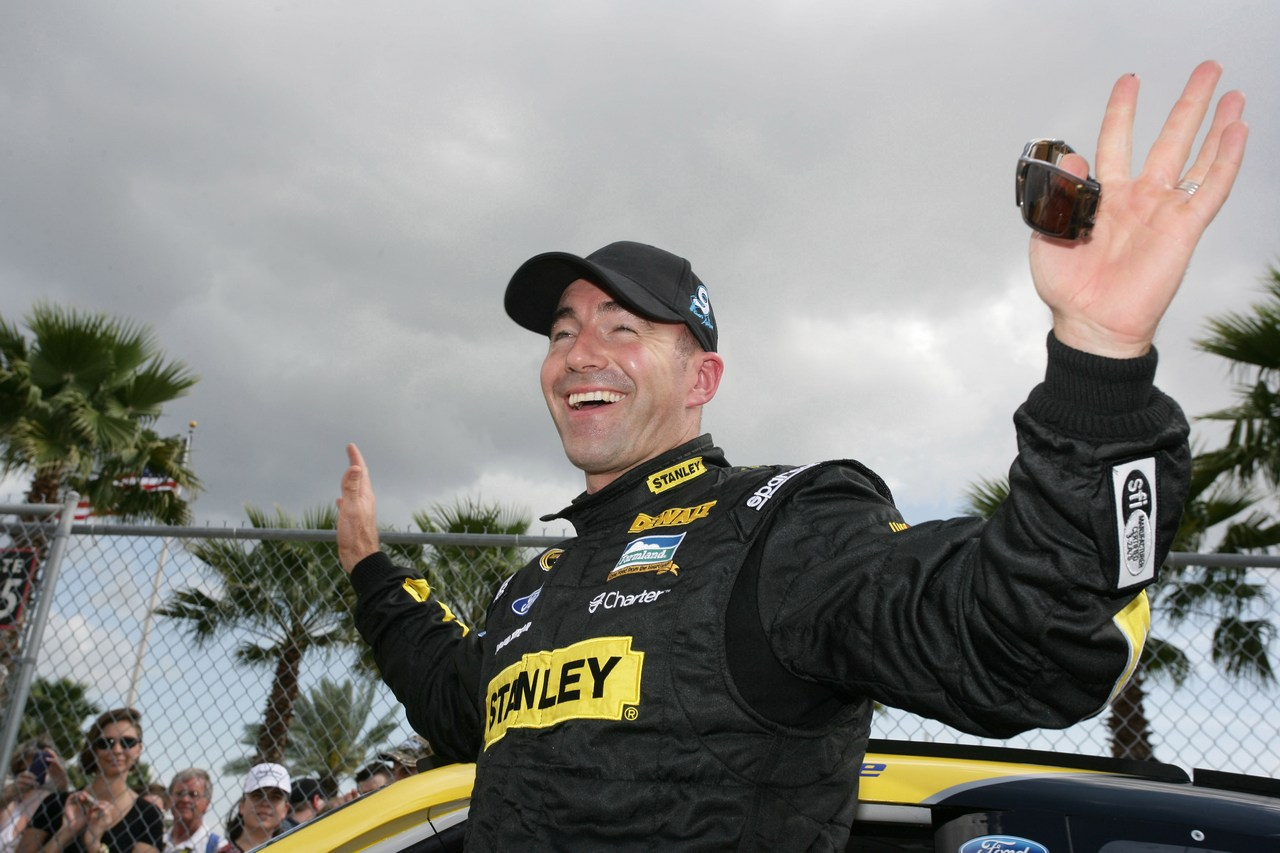 19.02.2012 Daytona Beach, FL, Qualifying, Marcos Ambrose, Petty Motorsport Ford - Daytona International Speedway, Daytona 500, NASCAR, Sprint Cup Series