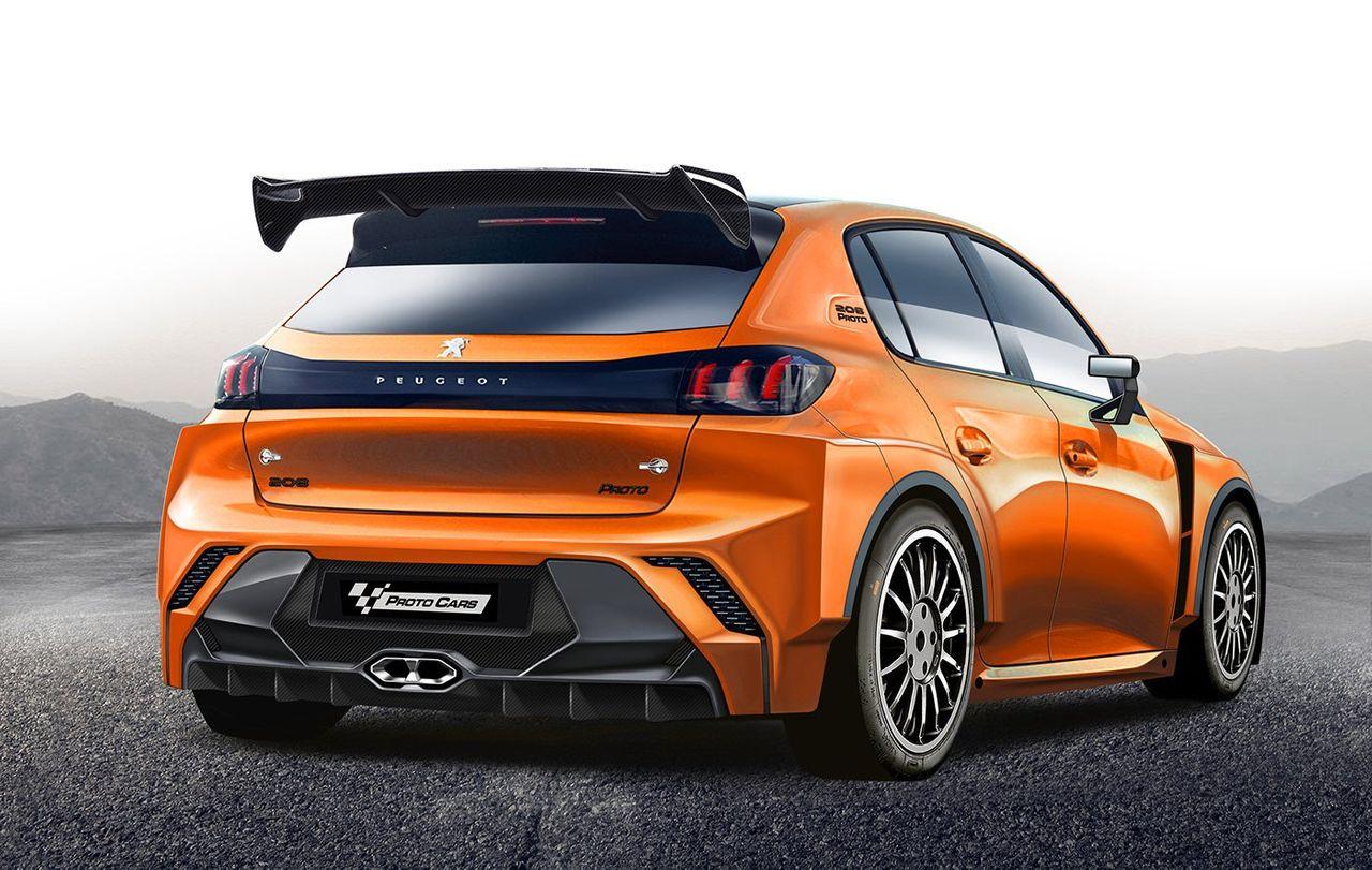 Peugeot 208 WRC - Rendering