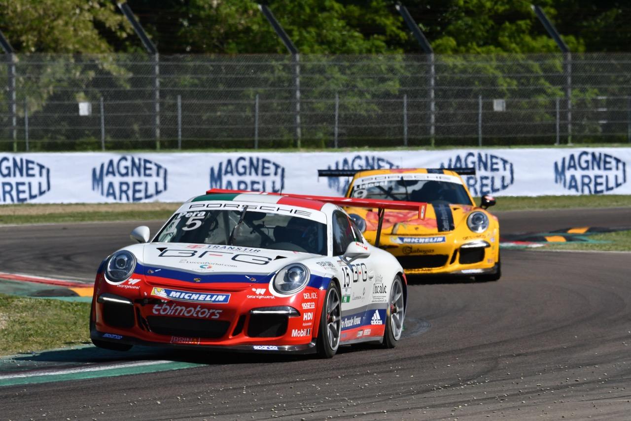 Riccardo Pera (ITA), Porsche 911 GT3 Cup,Ebimotors