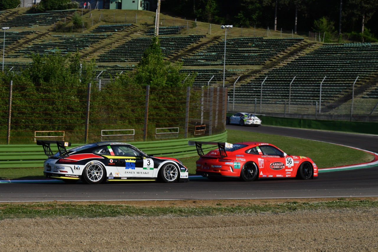 Niccolo Mercatali (ITA) Porsche 911 GT3 Cup