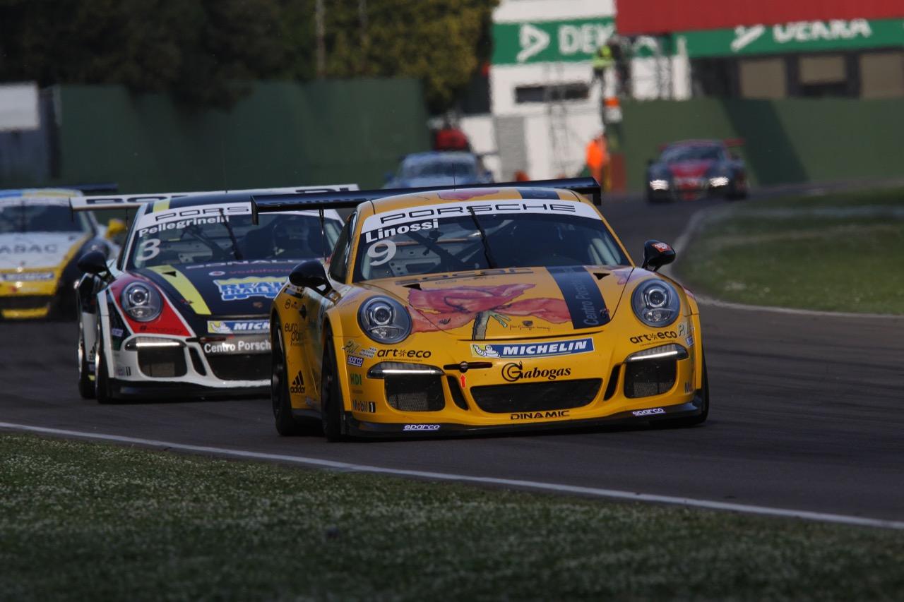 Francesca Linossi  (ITA), Porsche 911 GT3 Cup,Dinamic Motorsport