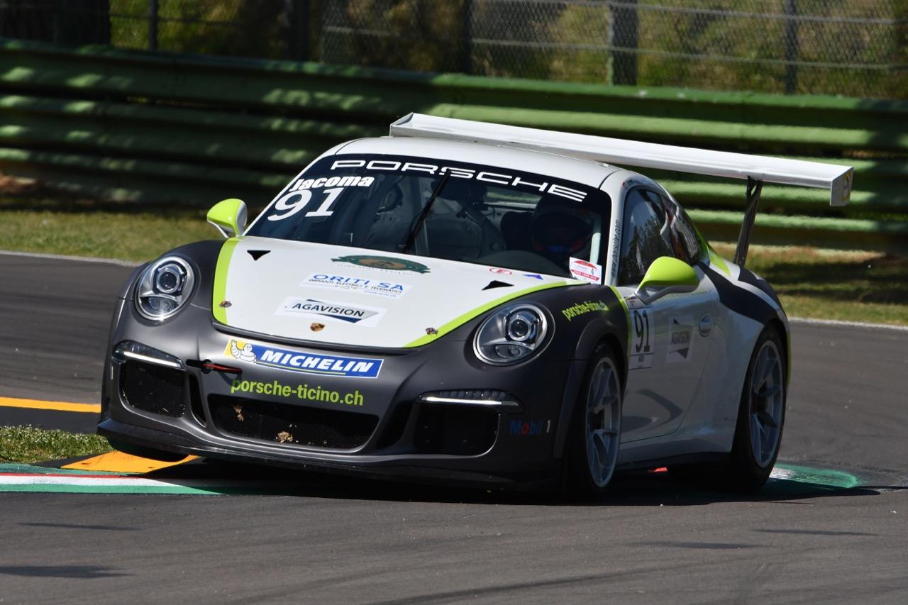 Ivan Jacoma ITA), Porsche 911 GT3 Cup,Ghinzani Motorsport