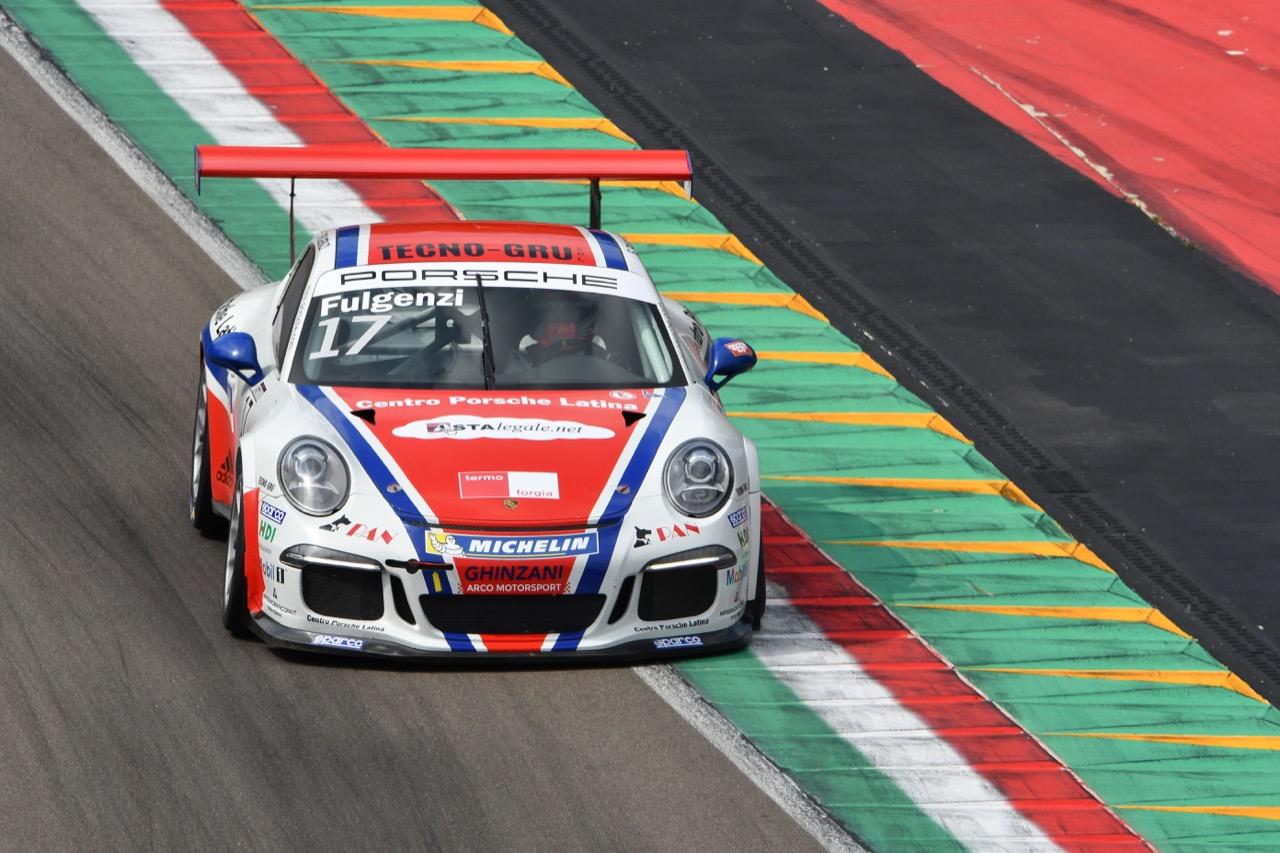 Enrico Fulgenzi (ITA), Porsche 911 GT3 Cup,Ghinzani Motorsport