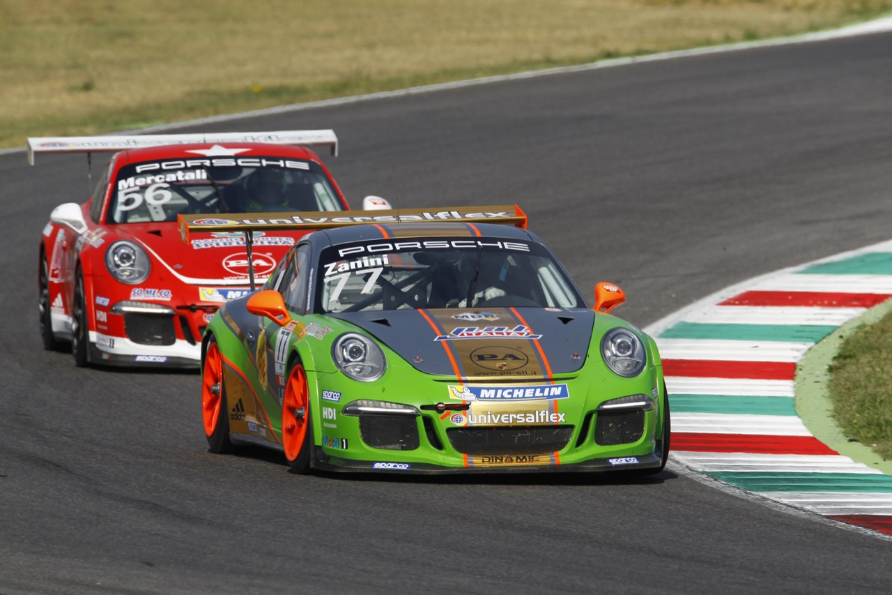 Stefano Zanini (ITA), Porsche 911 GT3 Cup,Team Dinamic