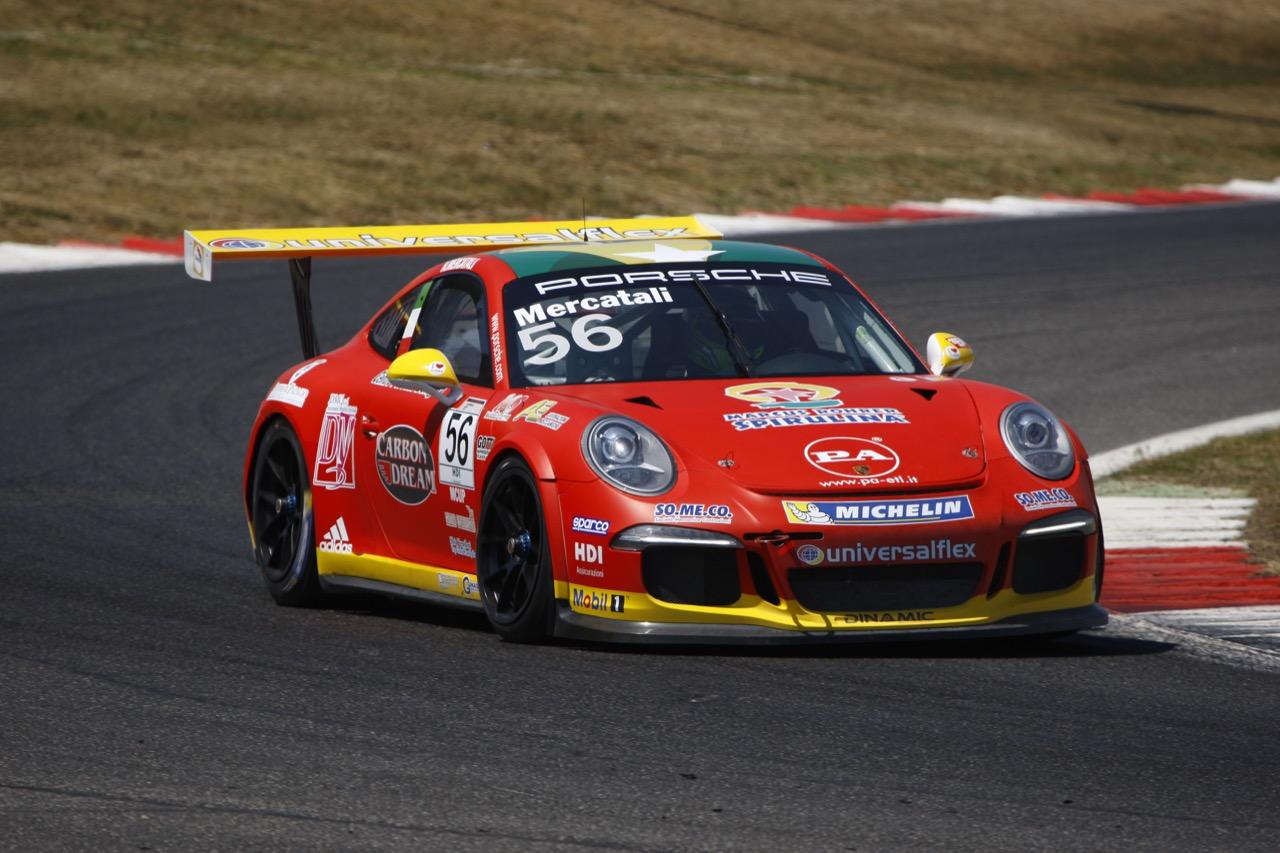 Niccolò Mercatali (ITA), Porsche 911 GT3 Cup,Dinamic Motorsport