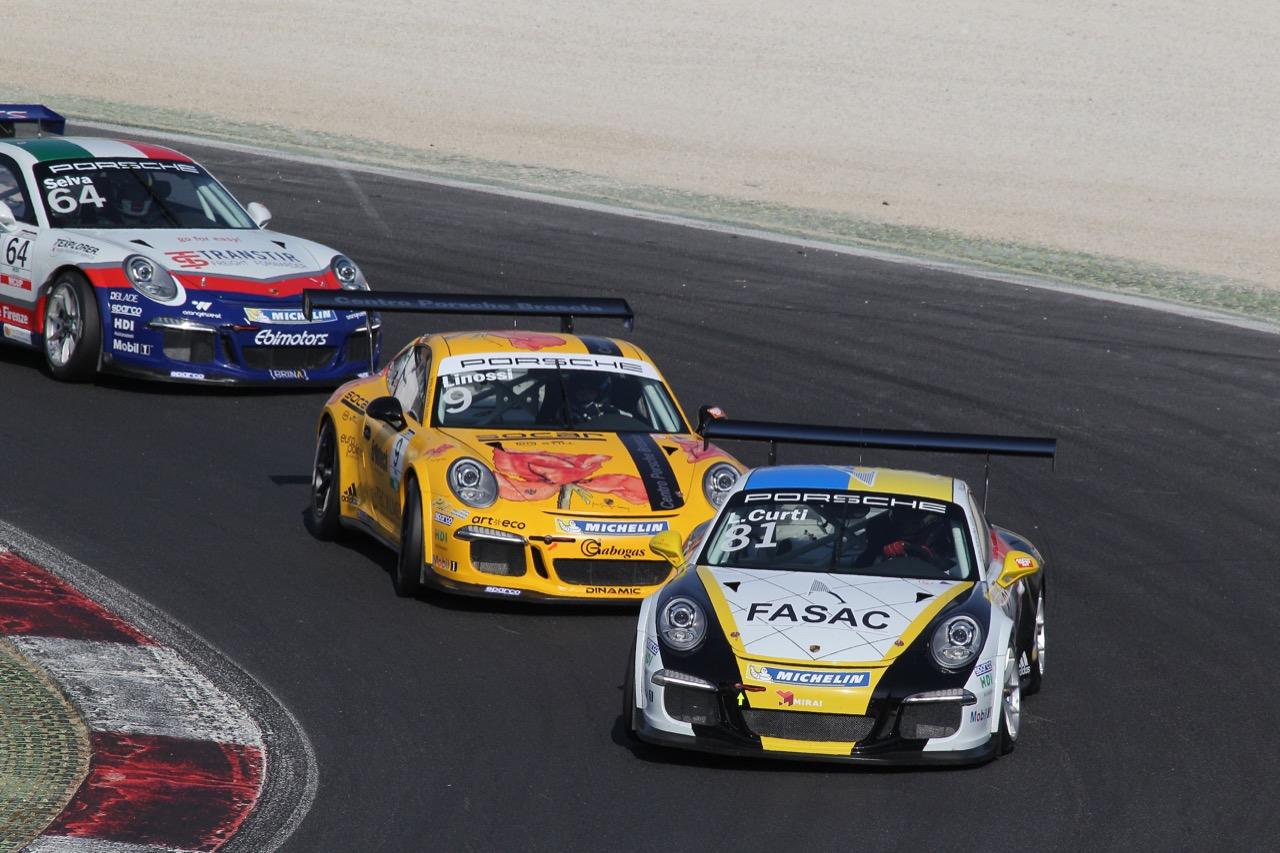 Lino Curti (ITA), Porsche 911 GT3 Cup,Tsunami RT