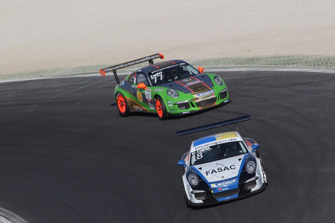 Carlo Curti (ITA), Porsche 911 GT3 Cup,Tsunami RT
