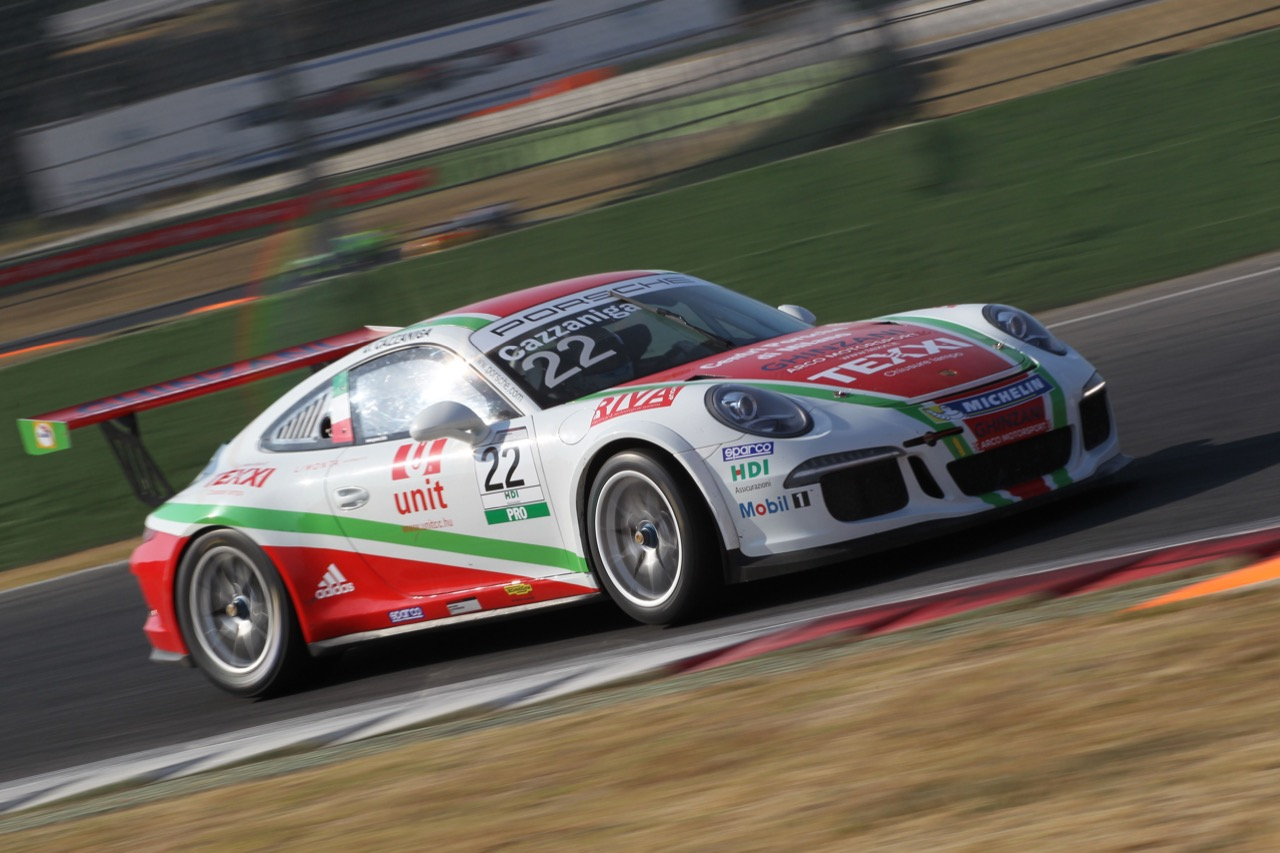 Daniele Cazzaniga (ITA), Porsche 911 GT3 Cup, Ghinzani Motorsport