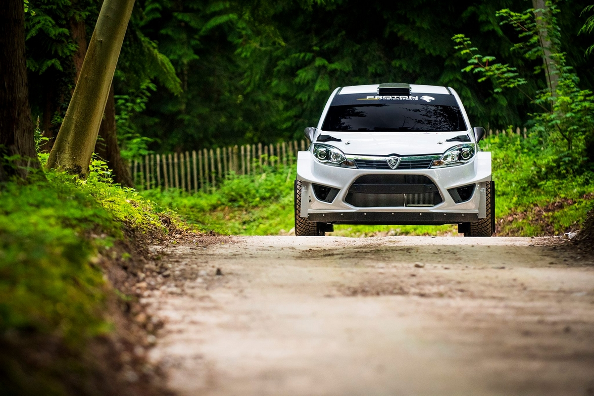 Proton Iriz R5 - Goodwood 2017
