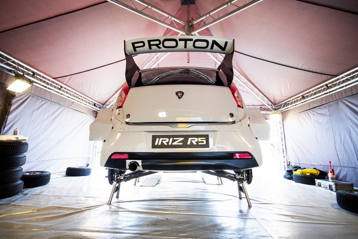 Proton Iriz R5 - Goodwood 2017
