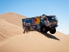 Firdaus Kabirov (driver), Aydar Belyaev (co-driver) and Andrey Mokeev (co-driver) in action during the 8th stage of  Dakar Rally between Antofagasta and Copiapo, Chile on january 10th, 2011