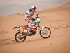 "Francisco ""Chaleco"" Lopez in action during the 9th stage of Dakar Rally in Copiapo, Chile on january 11th, 2011"