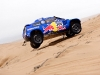 Carlos Sainz (driver) and Lucas Cruz (co-driver) n action during the 9th stage of Dakar Rally in Copiapo, Chile on january 11th, 2011