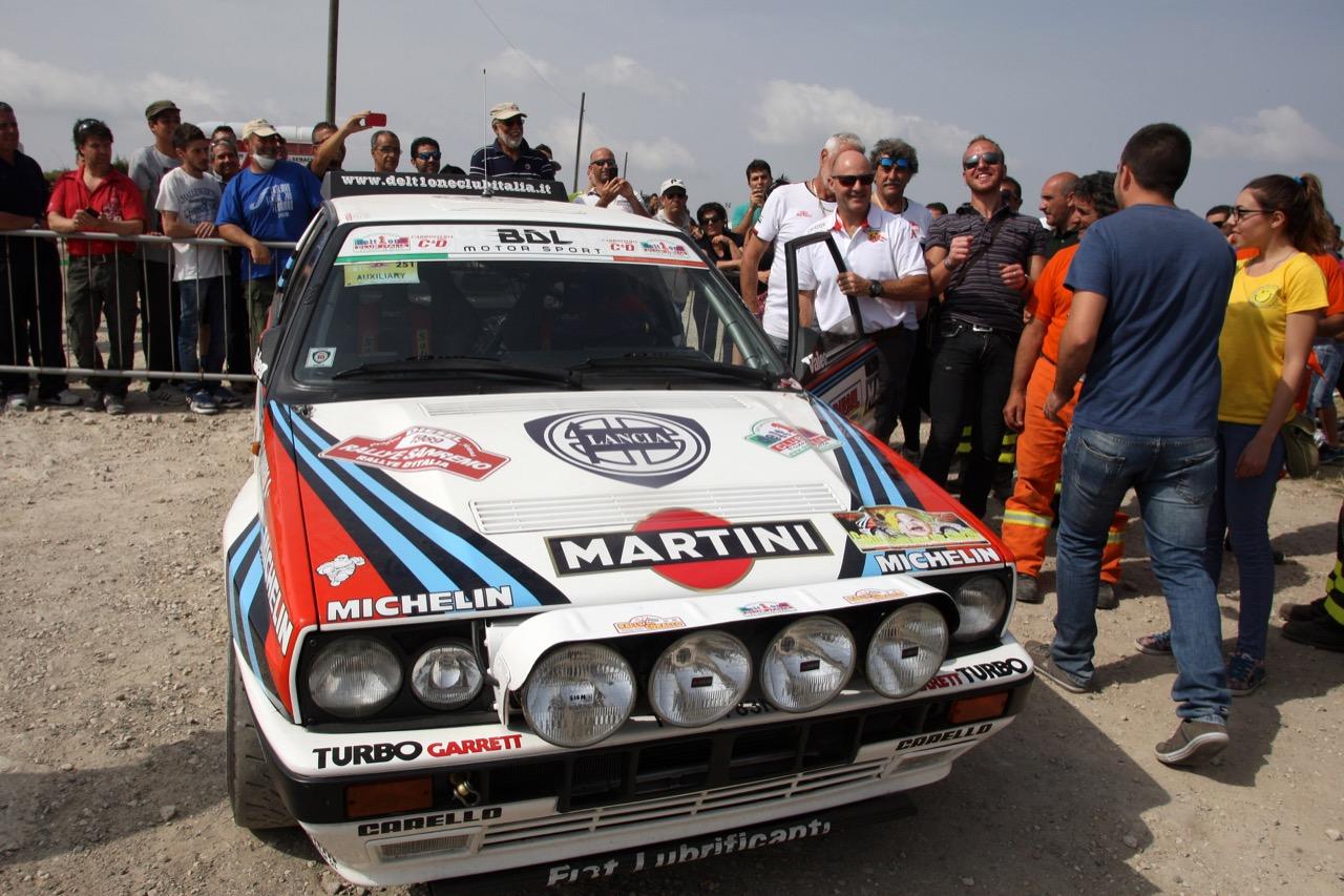 Revival Miki Biasion al Rally Italia Sardegna 2015