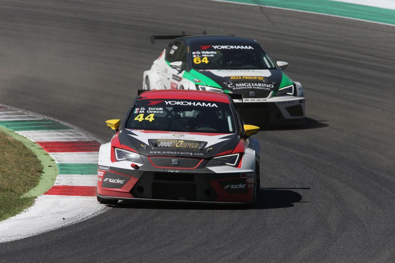 Gabriele Torelli (ITA) Matteo Greco (ITA) SEAT Leon Cup Racer,Nova Race