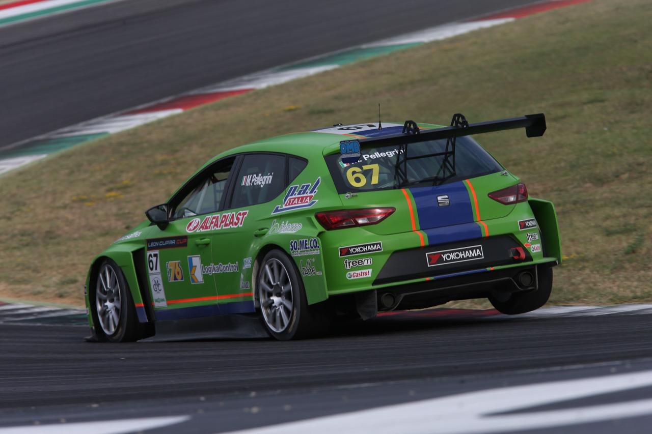 marco Pellegrini (ITA) SEAT Leon Cup Racer,Dinamic Motorsport