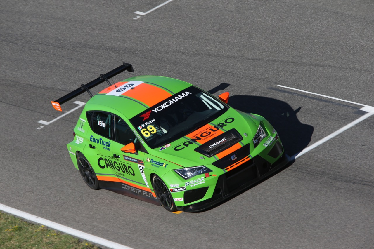 Franco Fumi (ITA) SEAT Leon Cup Racer,Dinamic Motorsport