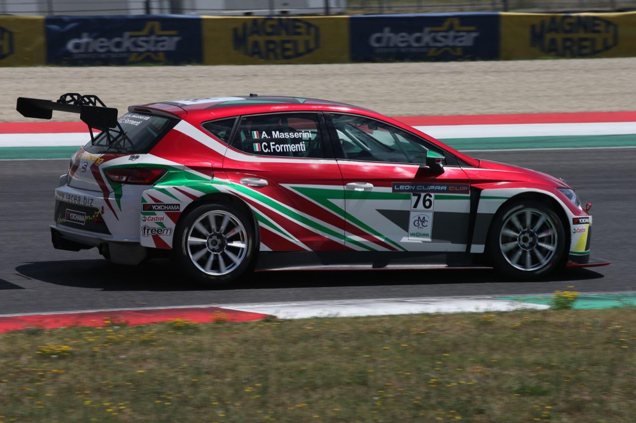 Claudio Formenti (ITA) SEAT Leon Cup Racer,Grand Prix Race