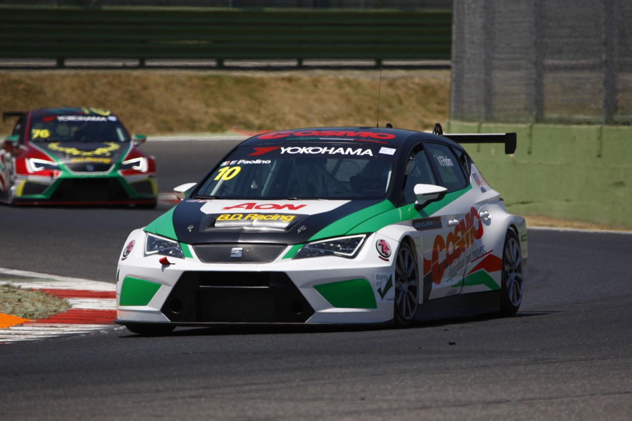 Federico Paolino (ITA) SEAT Leon Cup Racer,BD Racing