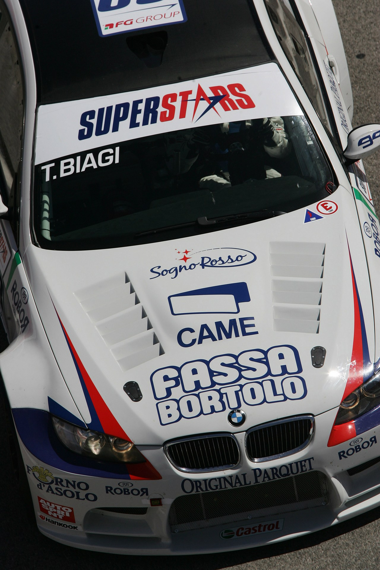 Thomas Biagi (ITA), BMW M3 E92, Team Dinamic