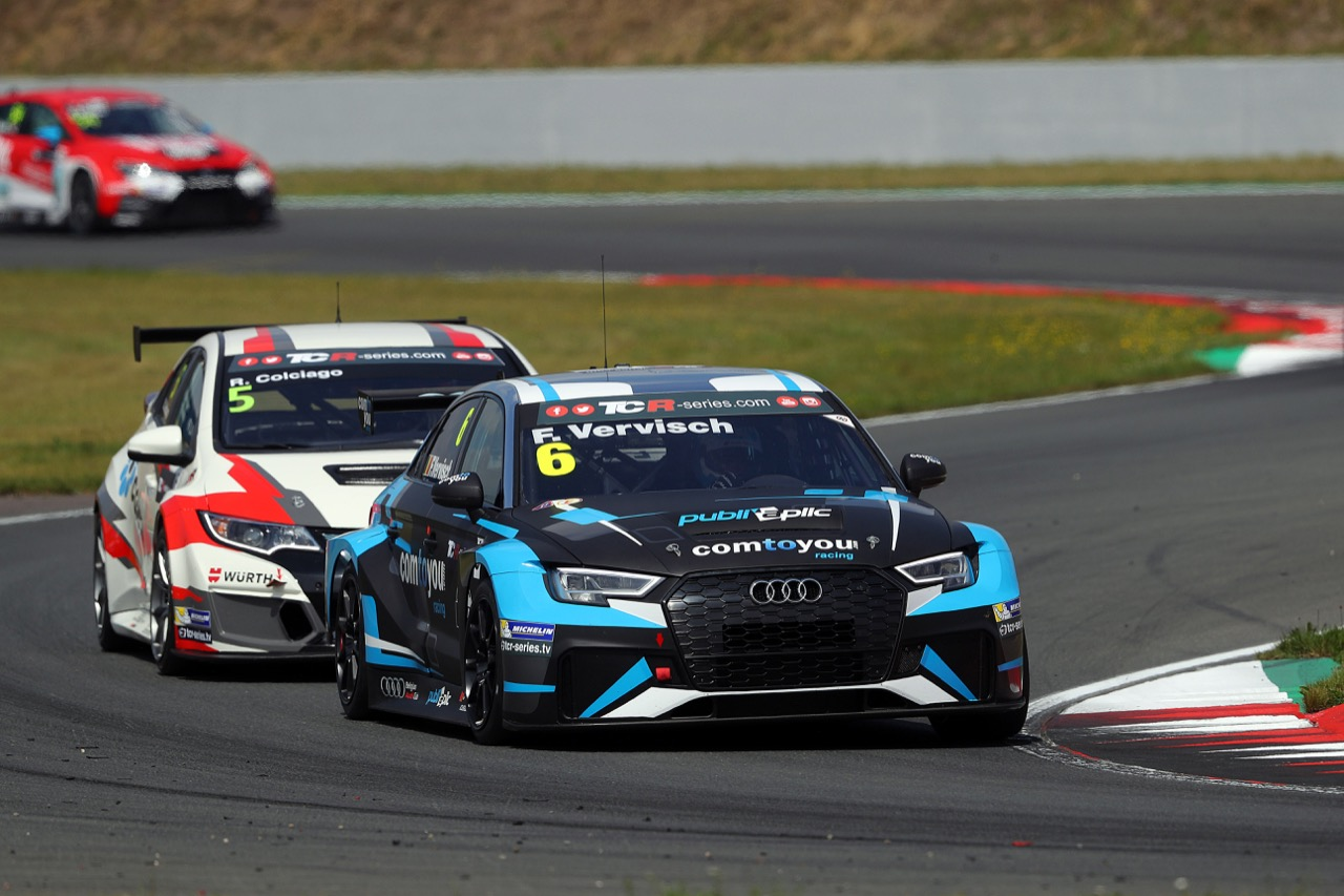 08.07.2017 - Frédéric Vervisch (BEL) Audi RS 3 LMS TCR,Comtoyou Racing