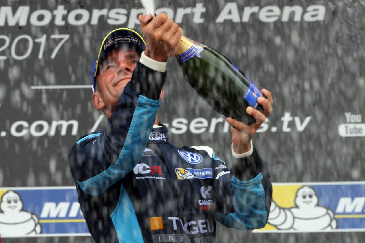 09.07.2017 - Race 1, Gianni Morbidelli (ITA) Volkswagen Golf GTi TCR, West Coast Racing race winner