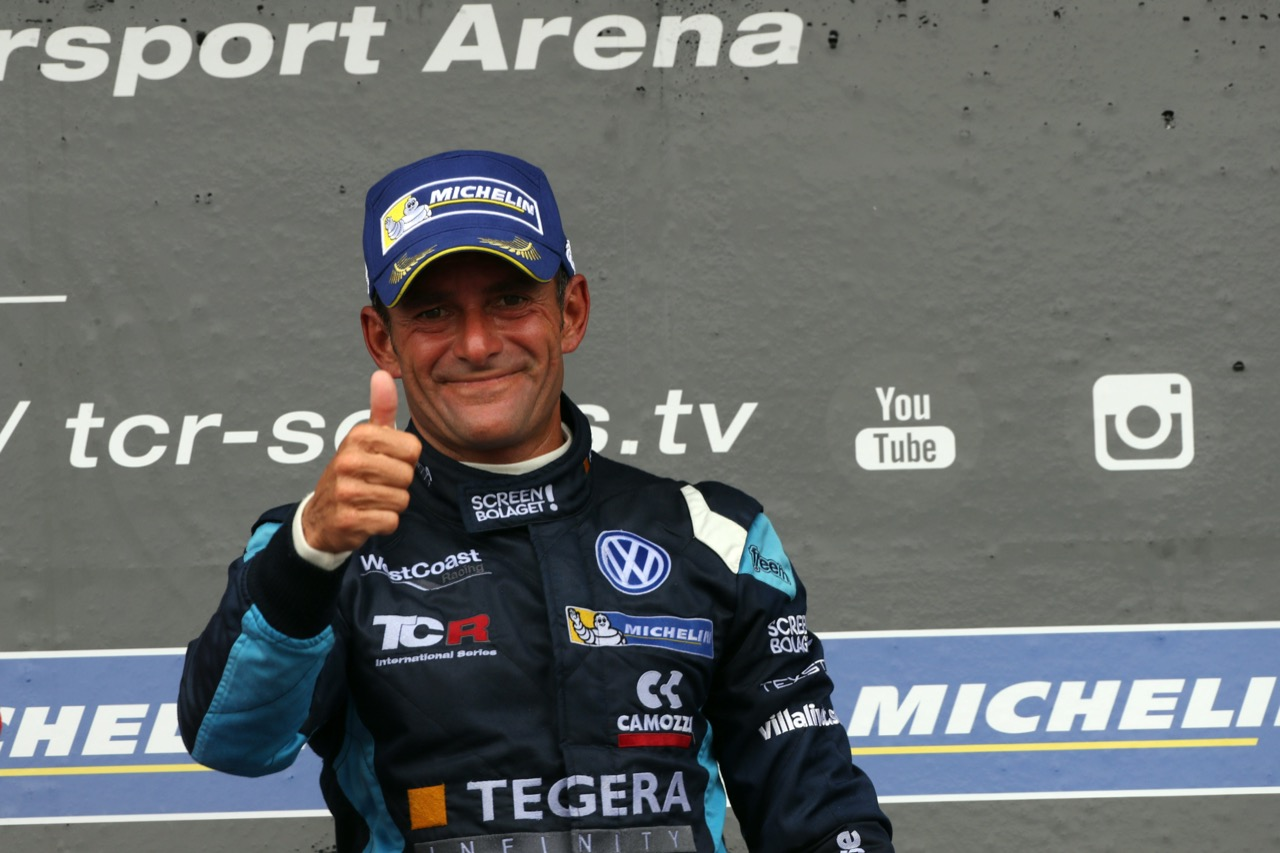 09.07.2017 - Race 1, Gianni Morbidelli (ITA) Volkswagen Golf GTi TCR, West Coast Racing race winner