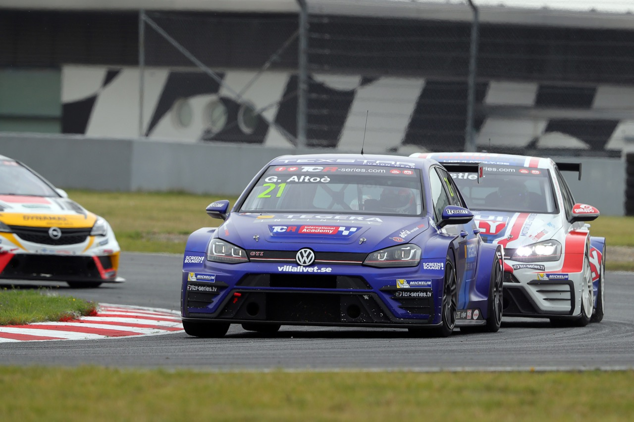 09.07.2017 - Race 1, Giacomo Altoè (ITA) Volkswagen Golf GTi TCR, West Coast Racing