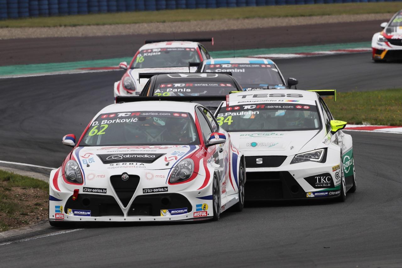 09.07.2017 - Race 1, Dusan Borkovic (SRB) Alfa Romeo Giulietta TCR, GE-Force