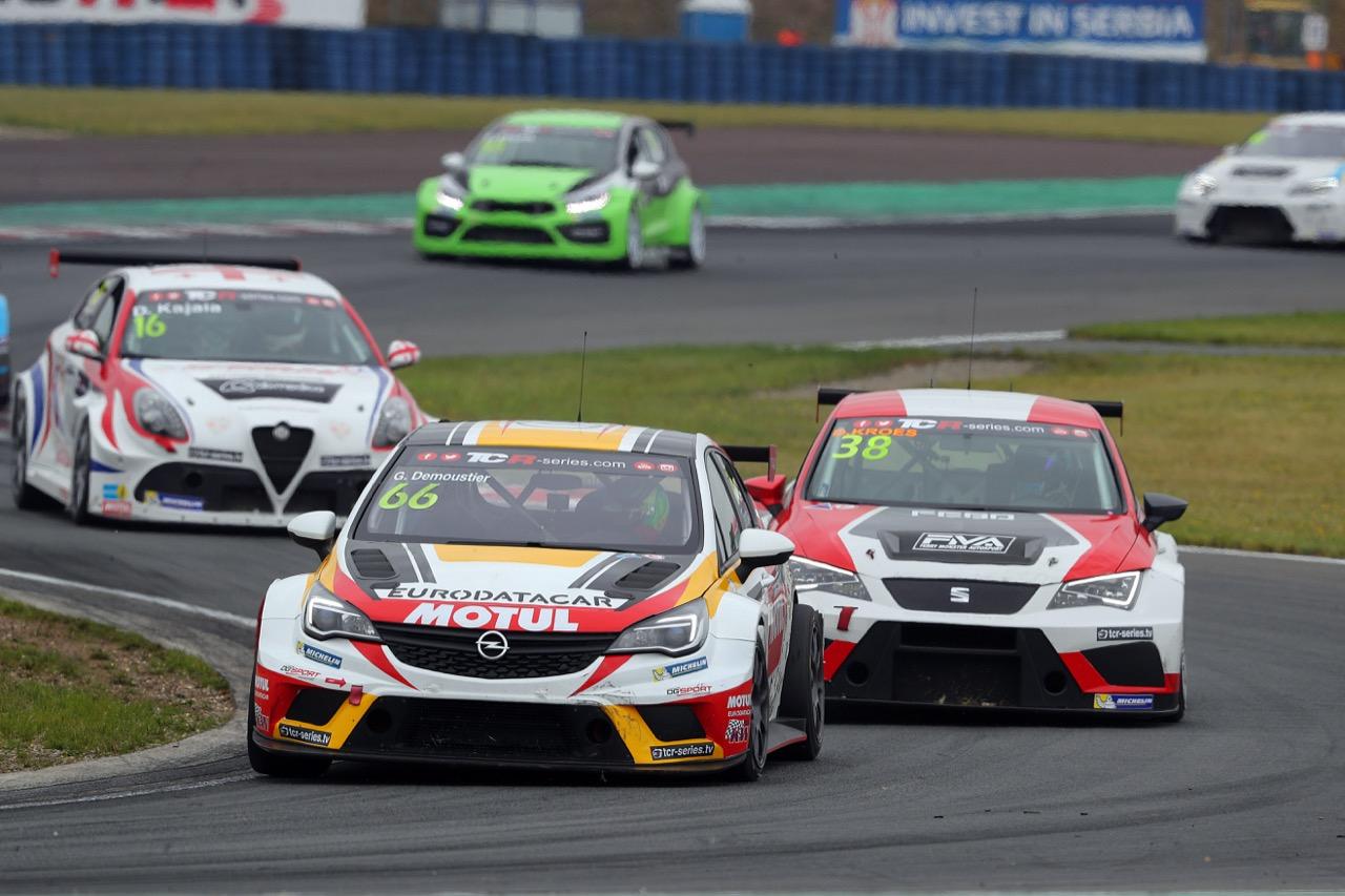 09.07.2017 - Race 1, Grégoire Demoustier (FRA) Opel Astra TCR, DG Sport Compétition