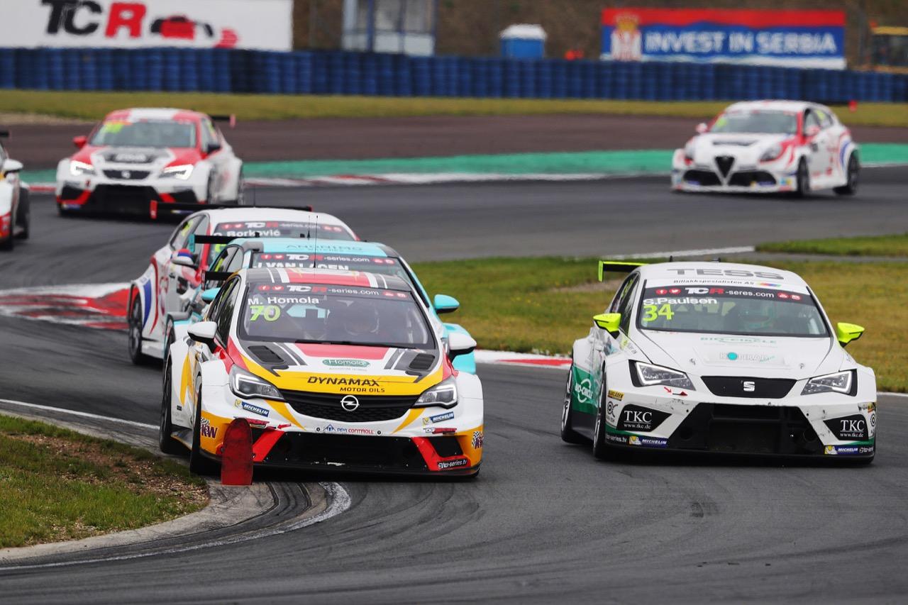 09.07.2017 - Race 1, Mat'o Homola (SVK) Opel Astra TCR, DG Sport Compétition