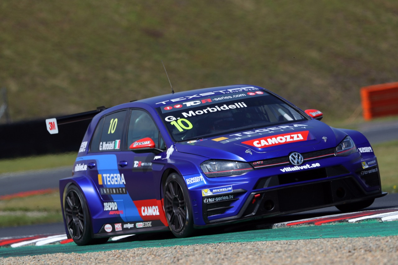 08.07.2017 - Gianni Morbidelli (ITA) Volkswagen Golf GTi TCR, West Coast Racing pole position