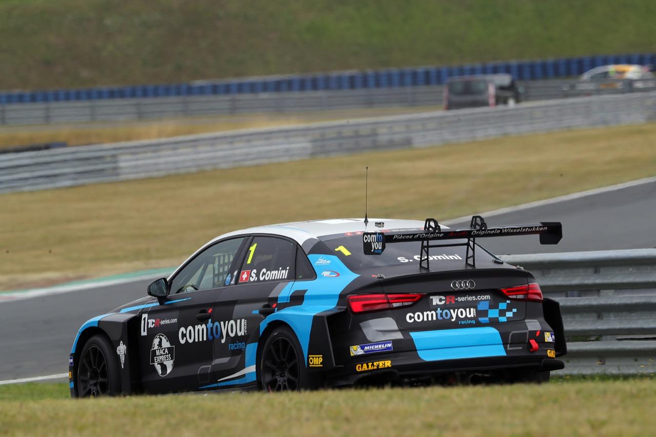 09.07.2017 - Race 2, Stefano Comini (SUI) Audi RS3 LMS, Comtoyou Racing