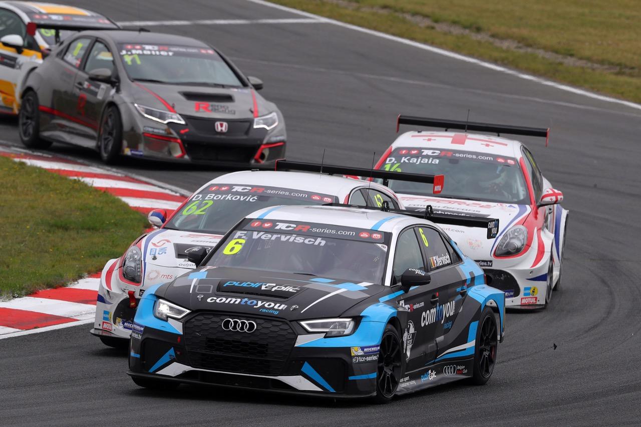 09.07.2017 - Race 2, Frédéric Vervisch (BEL) Audi RS 3 LMS TCR,Comtoyou Racing