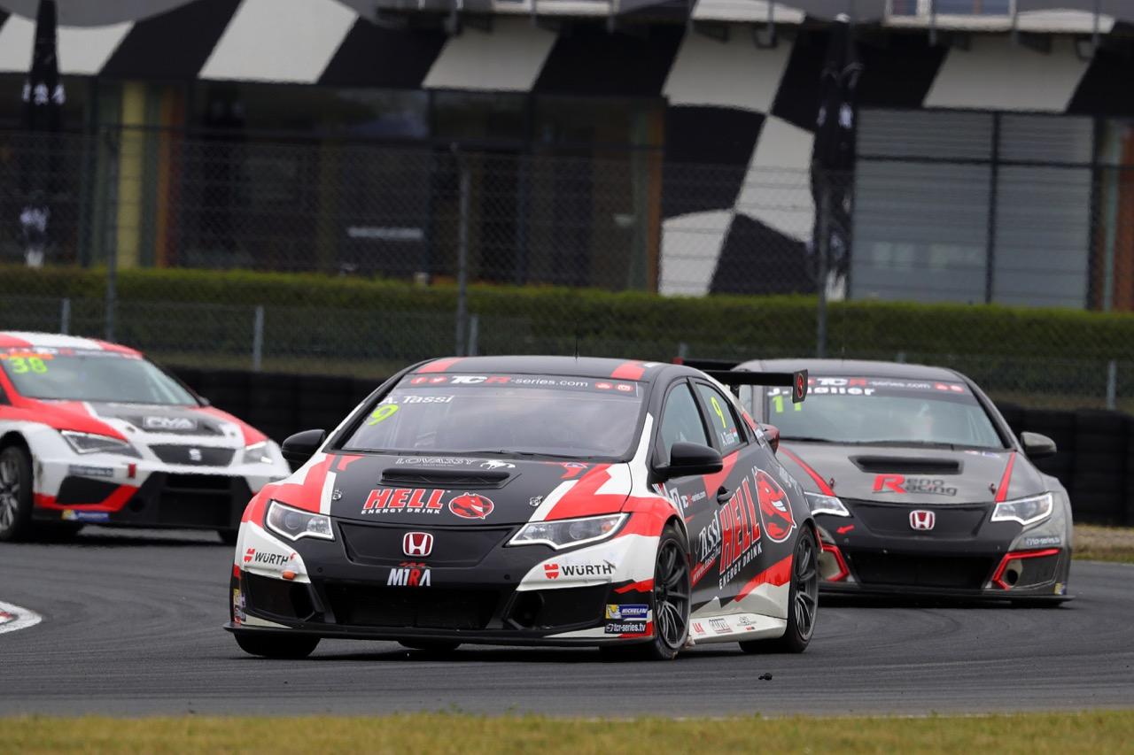 09.07.2017 - Race 2, Attila Tassi (HUN) Honda Civic TCR, M1RA