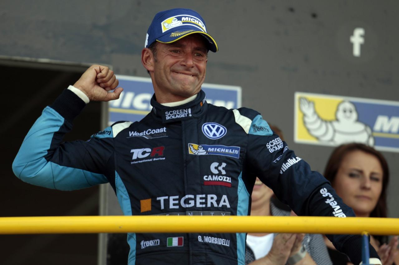 09.07.2017 - Race 2, Gianni Morbidelli (ITA) Volkswagen Golf GTi TCR, West Coast Racing race winner