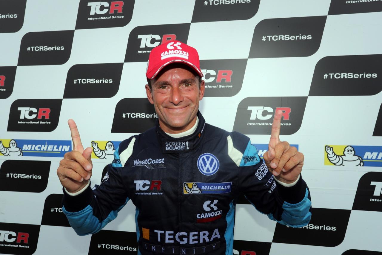 09.07.2017 - Race 2, Press conference, Gianni Morbidelli (ITA) Volkswagen Golf GTi TCR, West Coast Racing race winner
