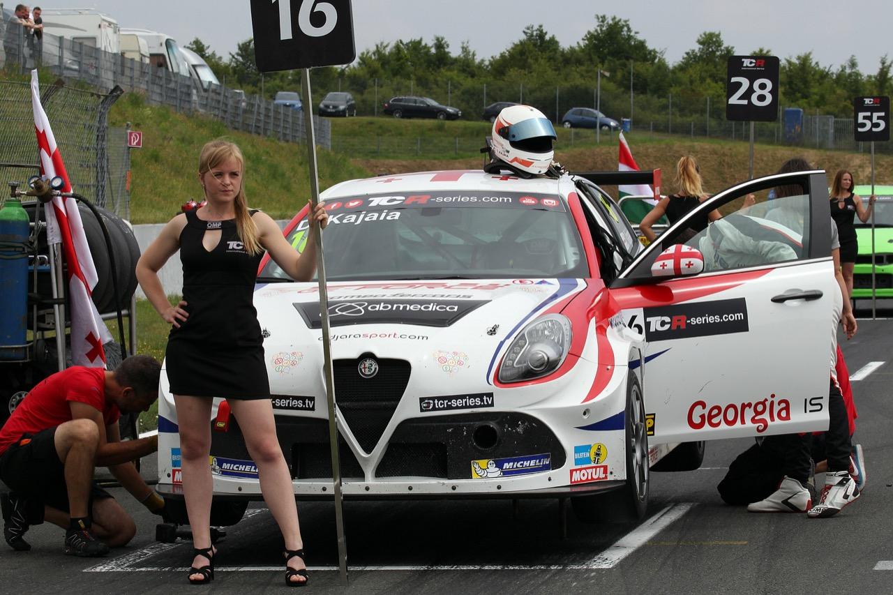 09.07.2017 - Race 2, Davit Kajaia (GEO) Alfa Romeo Giulietta TCR, GE-Force