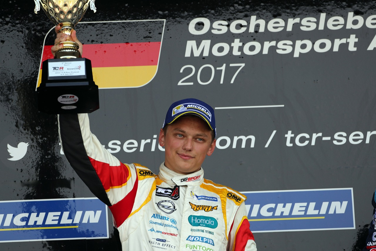 09.07.2017 - Race 2, 2nd place Mat'o Homola (SVK) Opel Astra TCR, DG Sport Compétition