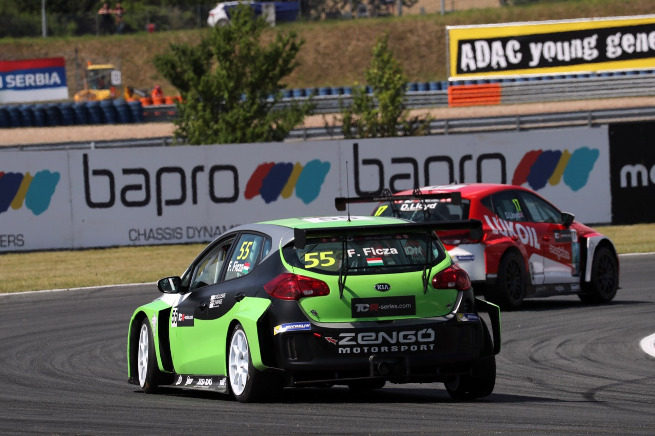 08.07.2017 - Ferenc Ficza (HUN) KIA cee'd TCR, Zengő Motorsport
