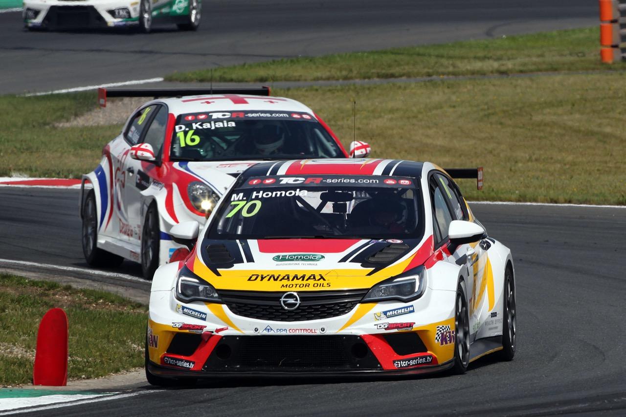 08.07.2017 - Mat'o Homola (SVK) Opel Astra TCR, DG Sport Compétition