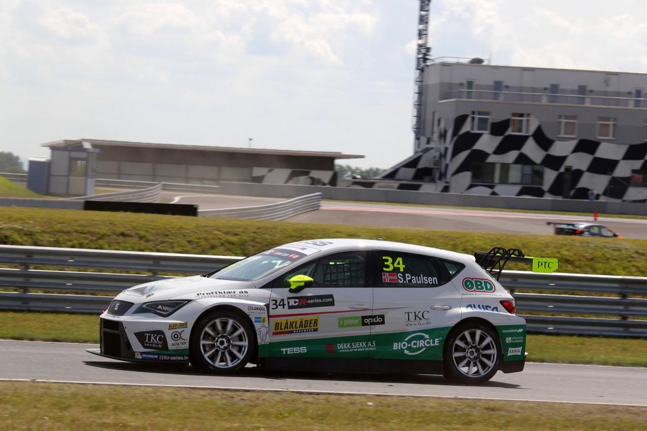 08.07.2017 - Stian Paulsen (NOR) SEAT León TCR, Stian Paulsen Racing