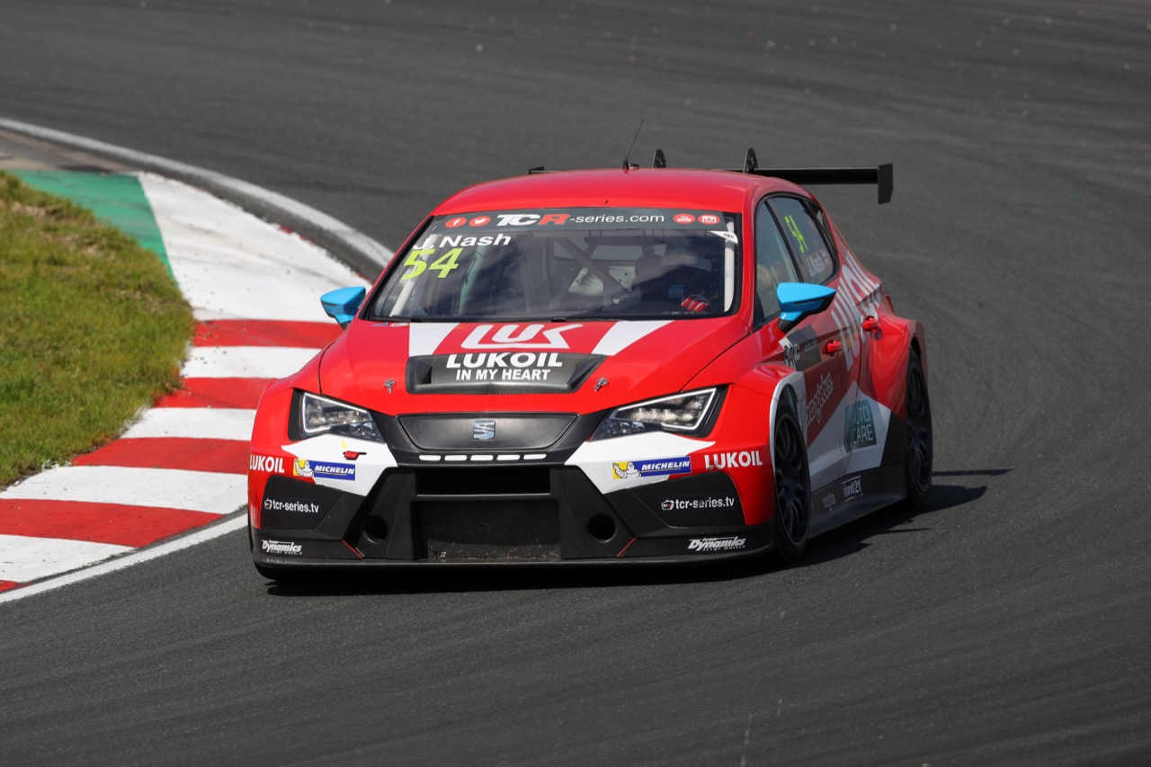 08.07.2017 - James Nash (GBR) SEAT León TCR, Lukoil Craft-Bamboo Racing