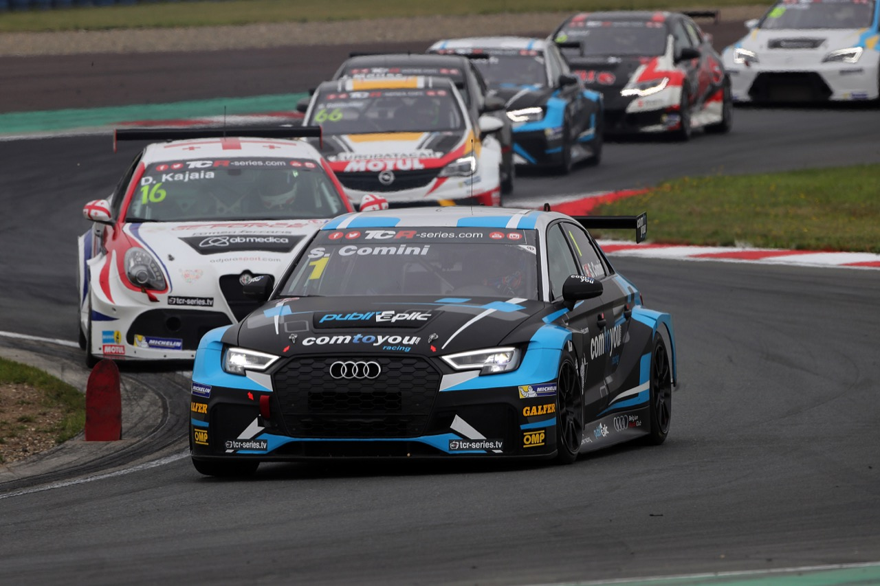 09.07.2017 - Race 1, Stefano Comini (SUI) Audi RS3 LMS, Comtoyou Racing