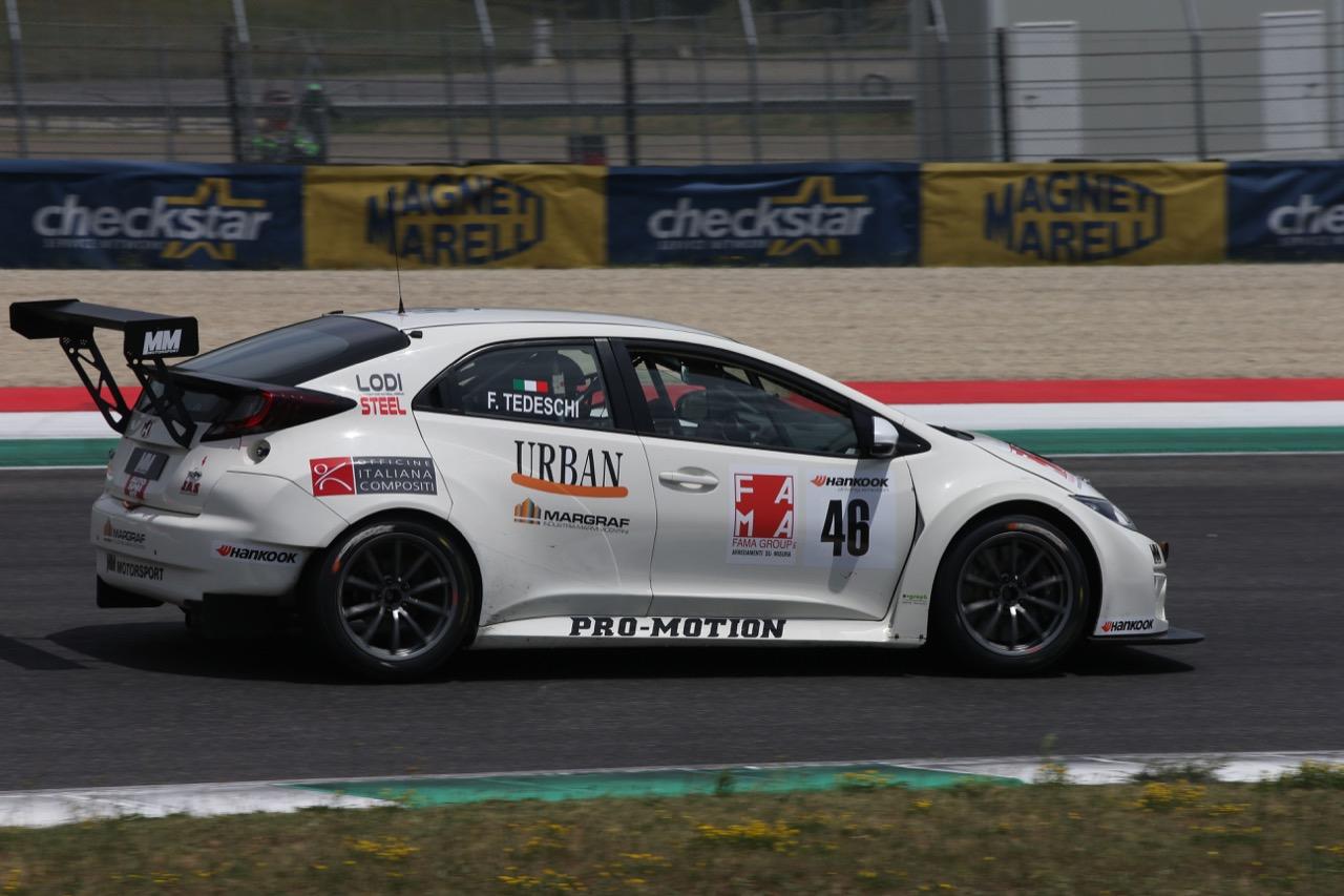 Felice Tedeschi  (MM Motorsport,Honda Civic TCR-TCR #46)
