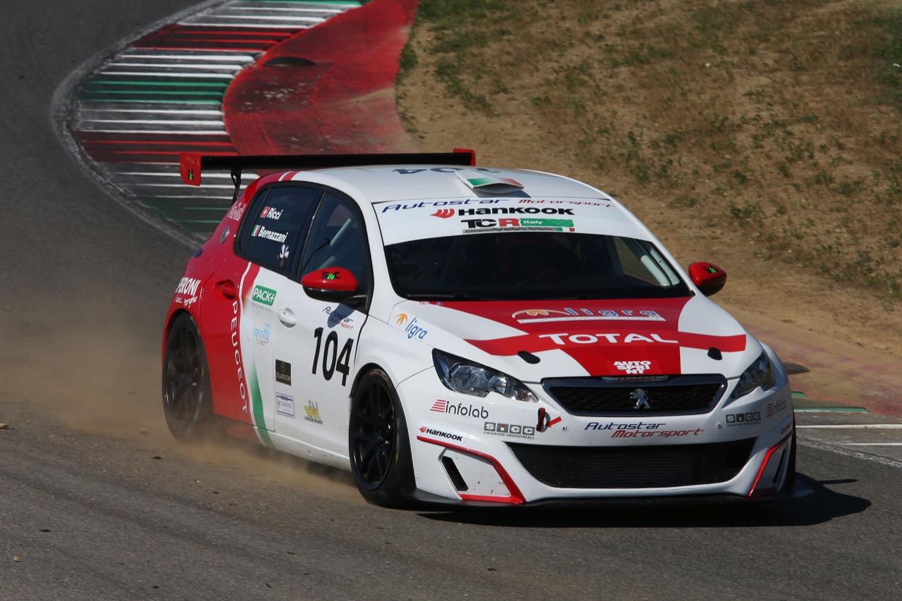 Raimondo Ricci (Sport & Comunicazione by Autostar,PeugeoT 308 MI16-TCT#104)