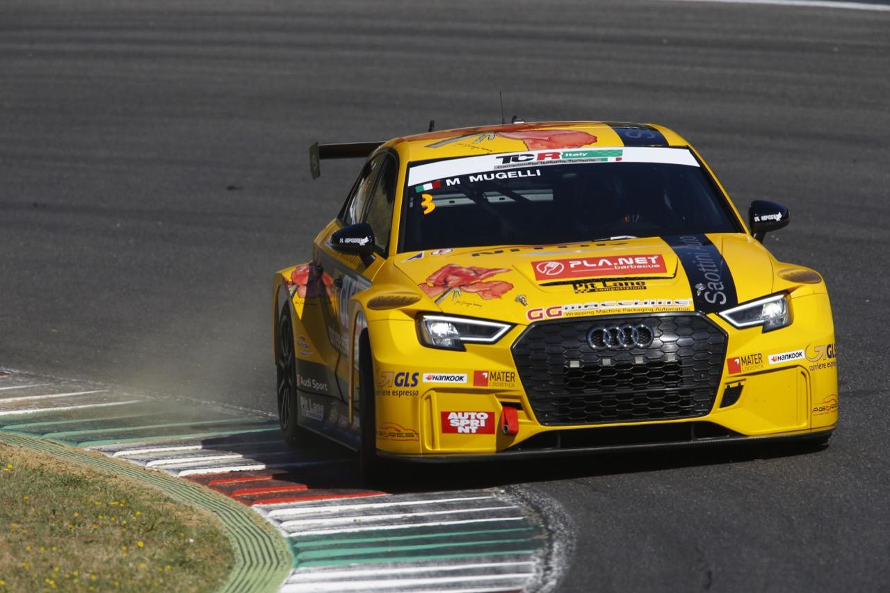 Max Mugelli (Pit Lane,Audi RS3 LMS-TCR #3)