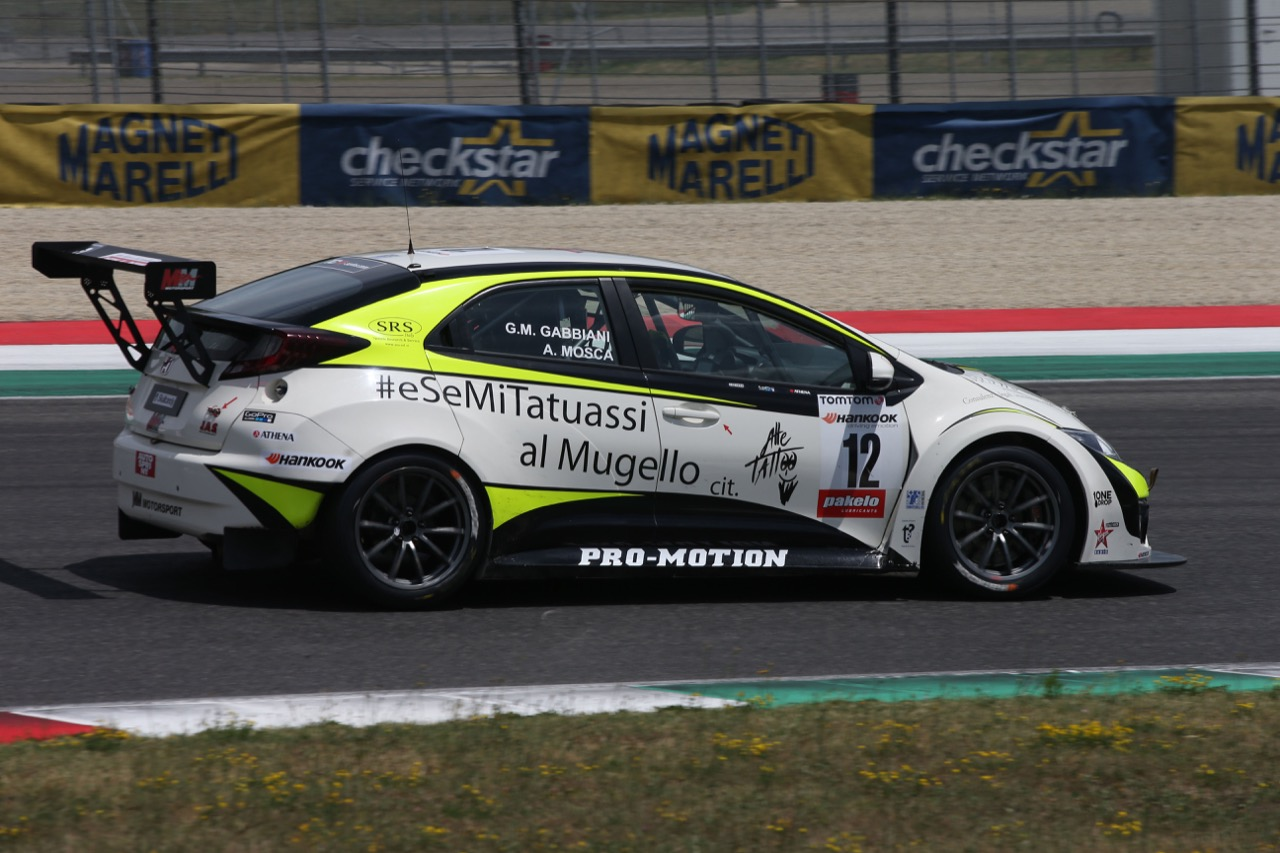 Gabbiani-Mosca (MM Racing,Honda Civic-TCR #12)